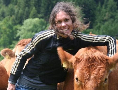 Portrait d'exploitation de Céline Haas